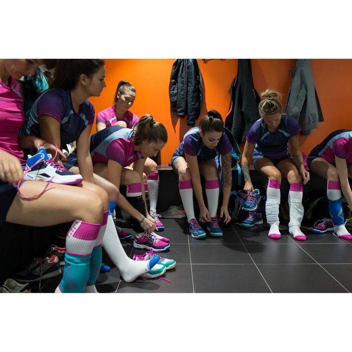 Volleybalshirt V500 voor dames marineblauw