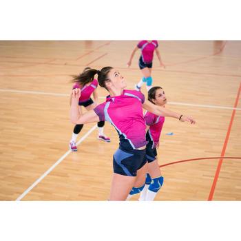Volleybalshirt V500 voor dames roze