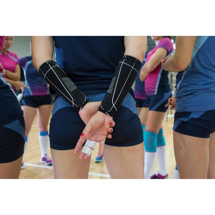 Manchons de volley-ball V100 noirs - 1347674
