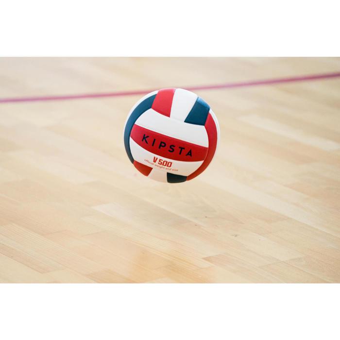 Ballon de volley-ball V300 blanc et bleu - 1347676