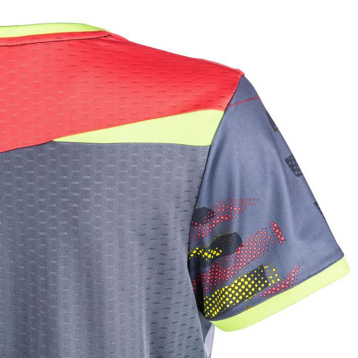 Handbalshirt voor dames H500 grijs en roze