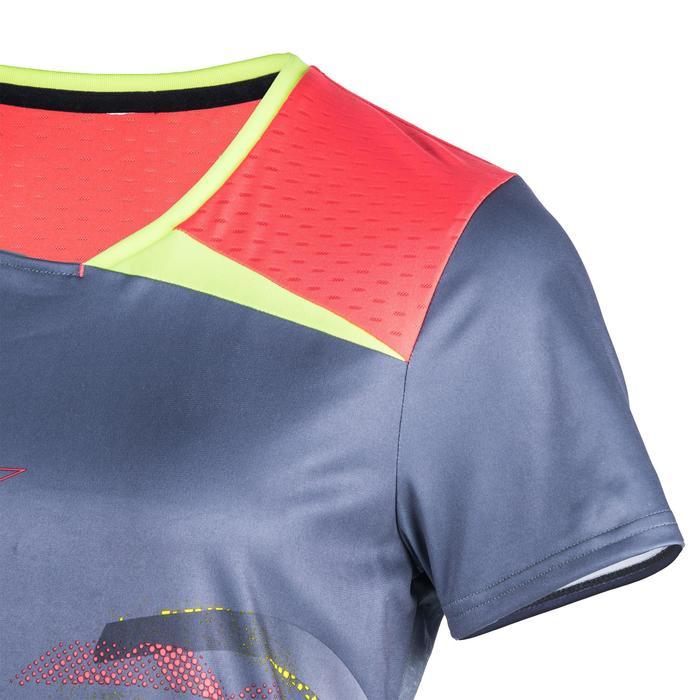 Camiseta de balonmano H500 Gris y Rosa