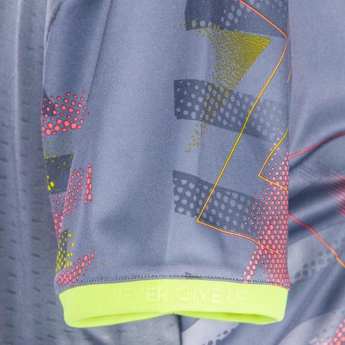 Handballtrikot H500 Damen grau/rosa