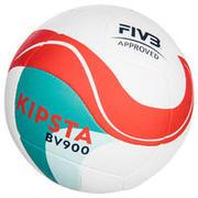 Žoga za odbojko na mivki FIVB BV900 - belo-zeleno-rdeča