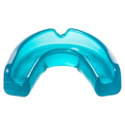 Protector bucal hockey sobre hierba baja intensidad júnior FH100 azul turquesa