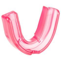 Protector bucal de hockey sobre hierba baja intensidad júnior FH100 rosa