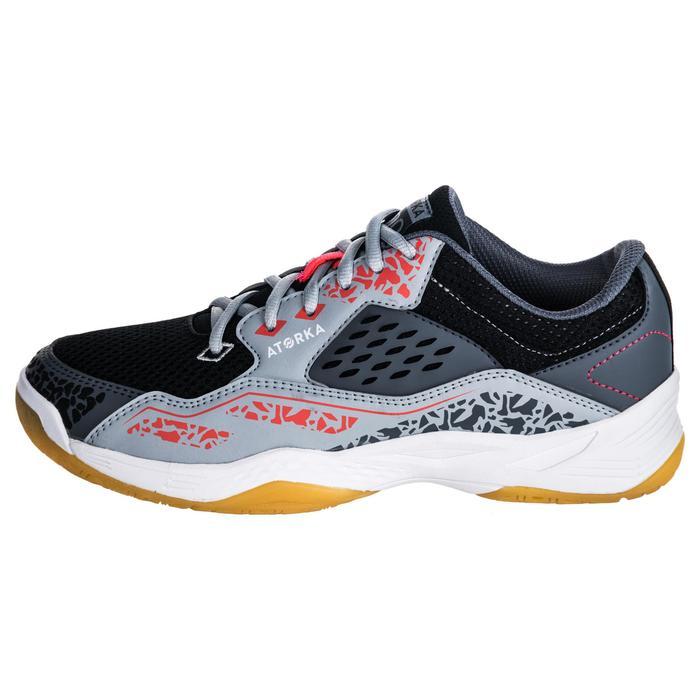 Chaussures de Handball H100 Homme grises et jaunes - 1347753