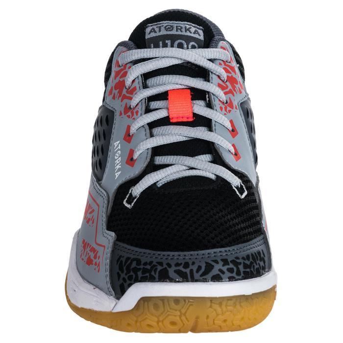 Chaussures de Handball H100 Homme grises et jaunes - 1347757