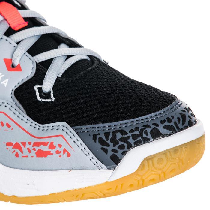 Chaussures de Handball H100 Homme grises et jaunes - 1347759