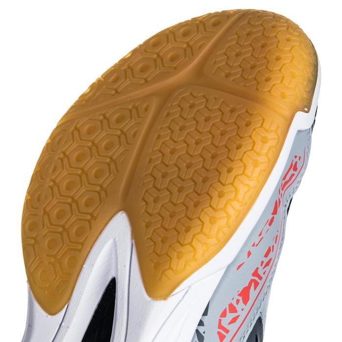 Chaussures de Handball H100 Homme grises et jaunes - 1347760