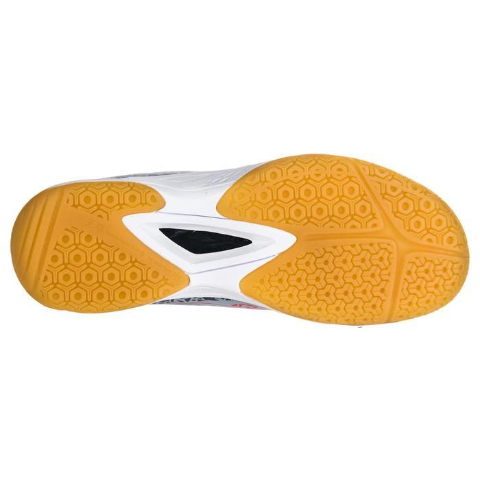 Chaussures de Handball H100 Homme grises et jaunes - 1347764