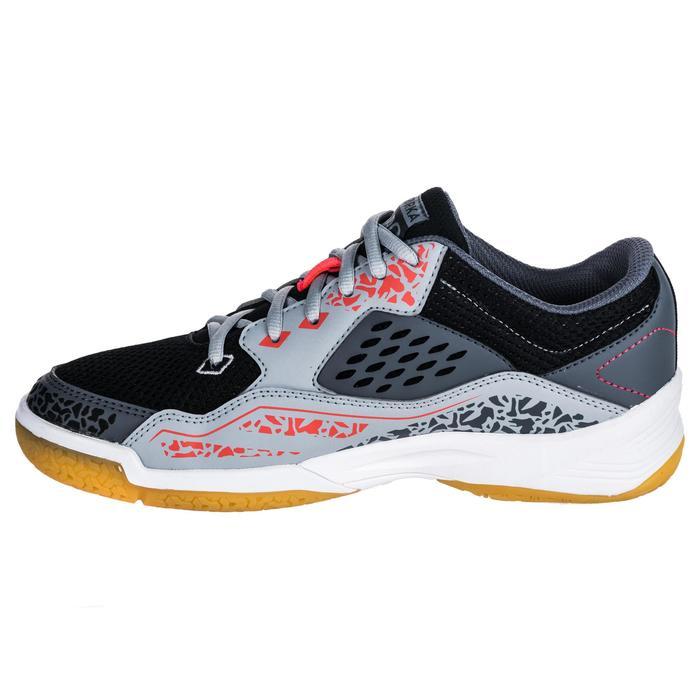 Chaussures de Handball H100 Homme grises et jaunes - 1347766