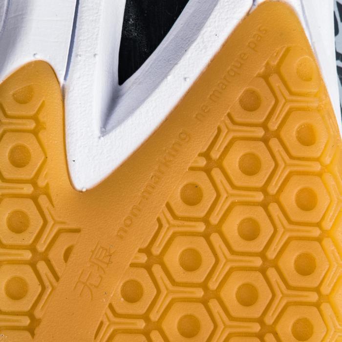 Chaussures de Handball H100 Homme grises et jaunes - 1347767