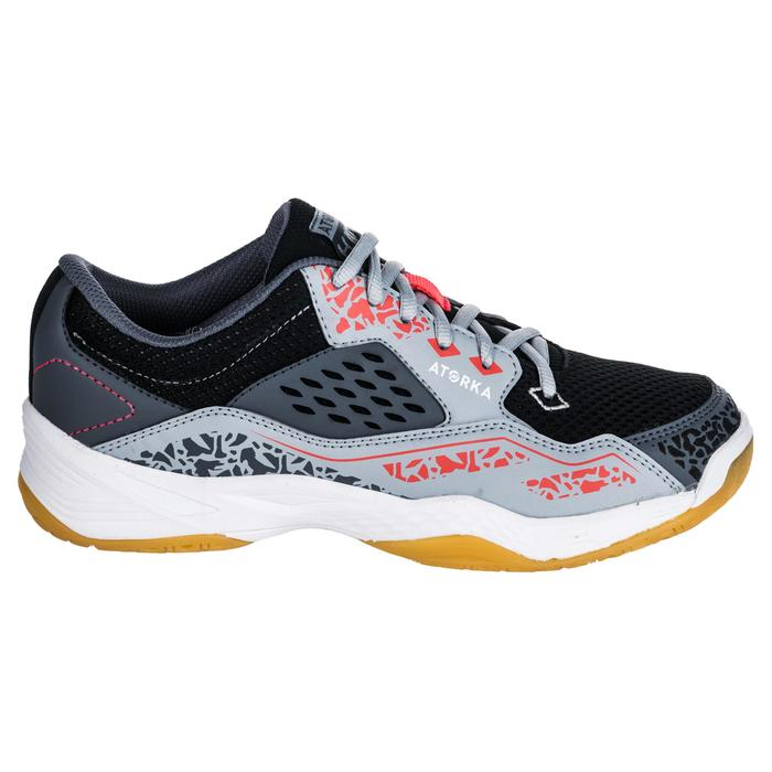 Chaussures de Handball H100 Homme grises et jaunes - 1347768