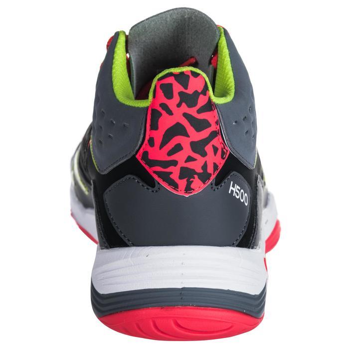 Chaussures de handball Mid femme grises et roses - 1347772