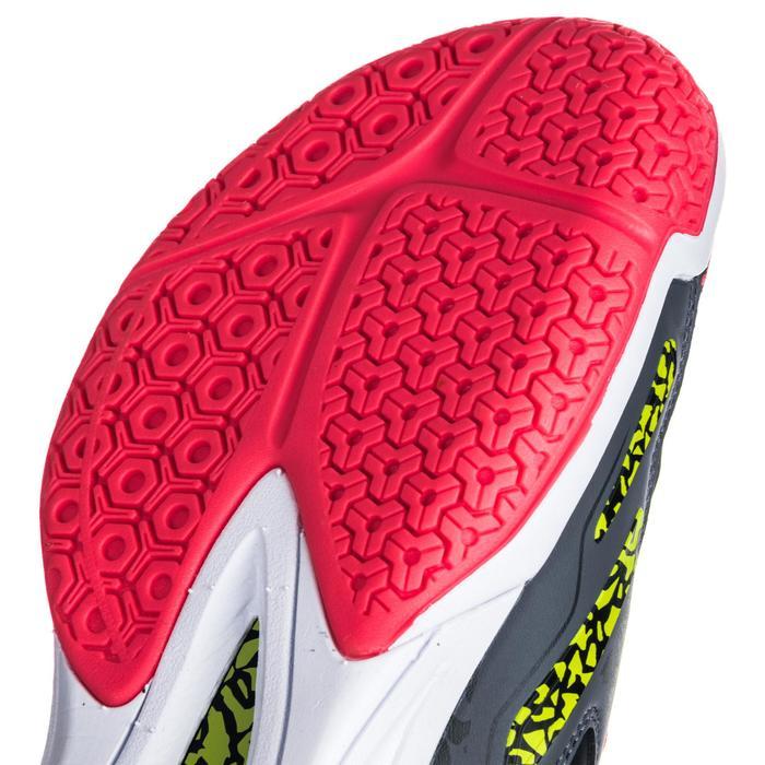 Chaussures de handball Mid femme grises et roses - 1347782