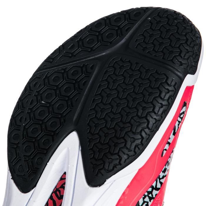 Chaussures de Handball H500 adulte noires et rouges - 1347786