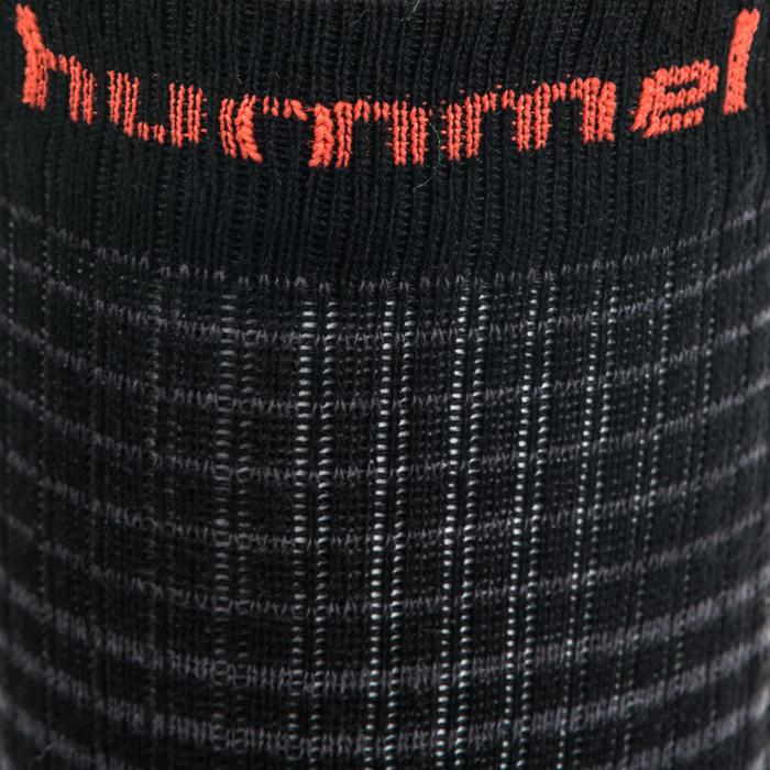 Handballsocken Mid Erwachsene schwarz/rot