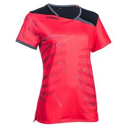 Maillot de handball H500 rose et