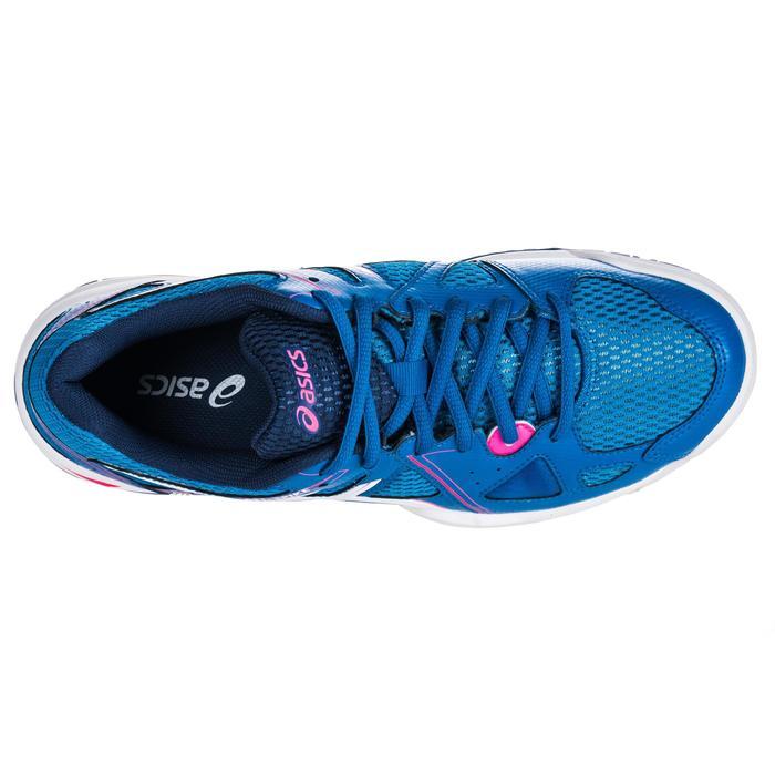 Chaussures de volley-ball femme Gel Spike bleues et roses. - 1347852