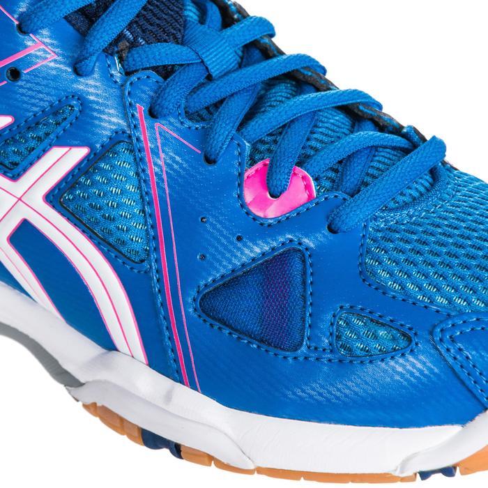 Chaussures de volley-ball femme Gel Spike bleues et roses. - 1347857
