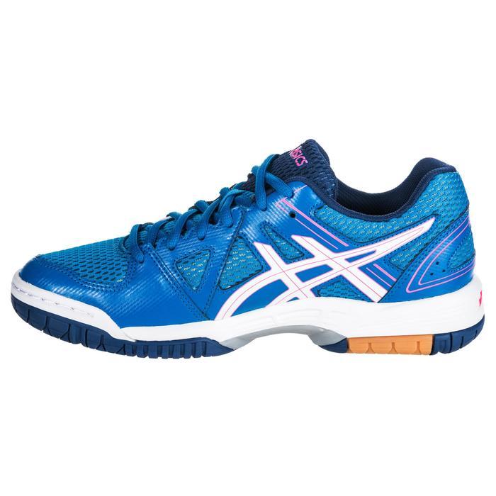 Chaussures de volley-ball femme Gel Spike bleues et roses. - 1347858
