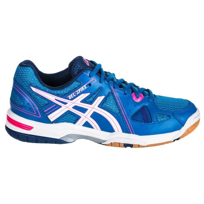 Chaussures de volley-ball femme Gel Spike bleues et roses. - 1347862