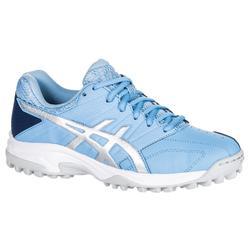 Hockeyschoenen voor dames, gemiddelde intensiteit, Gel Lethal MP 7, lichtblauw