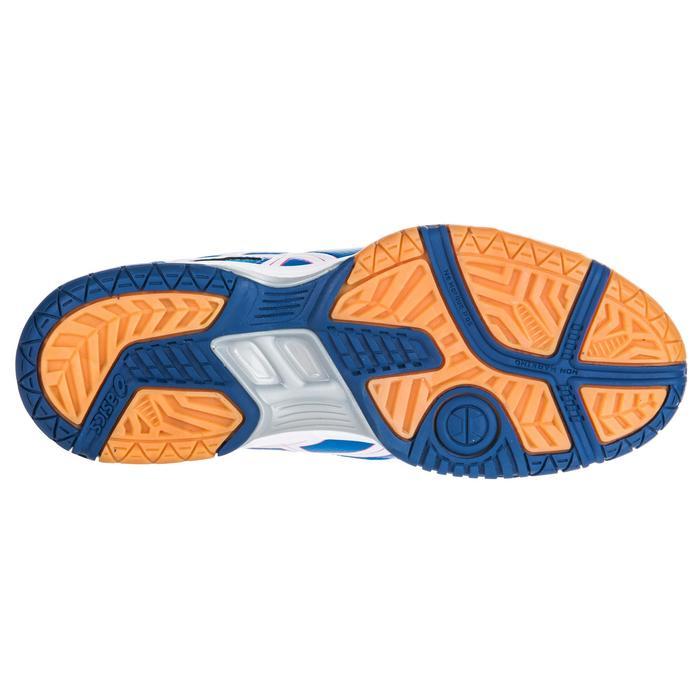 Chaussures de volley-ball femme Gel Spike bleues et roses. - 1347864