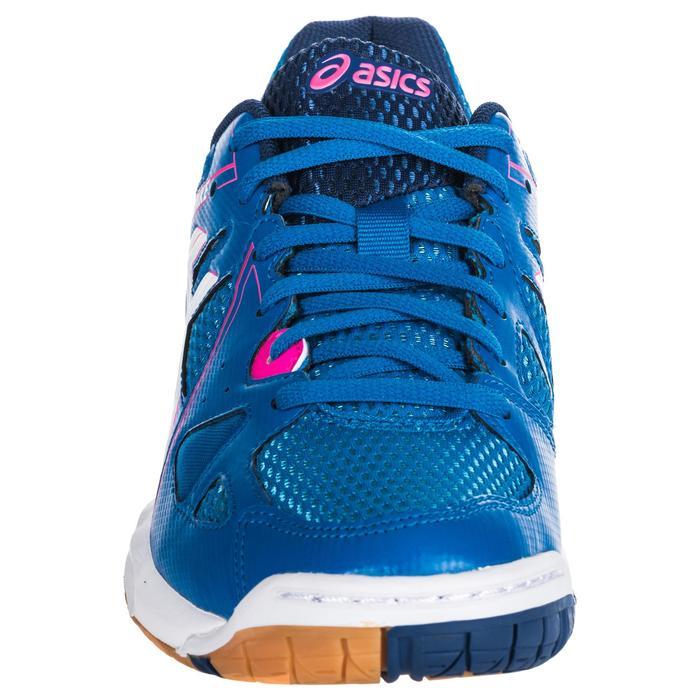 Chaussures de volley-ball femme Gel Spike bleues et roses. - 1347866