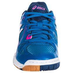 Zapatillas de Voleibol Asics Gel Spike mujer azul rosa