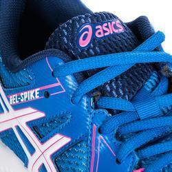 Volleyballschuhe Gel Spike Damen blau/pink