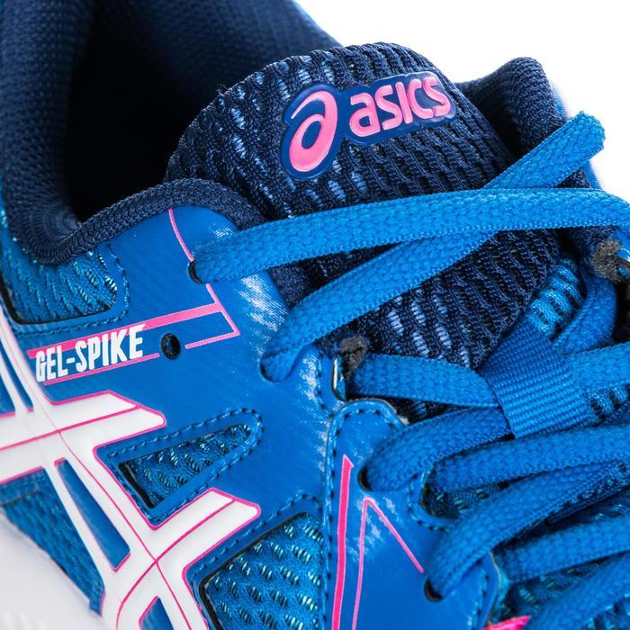 9359e45a62649 Zapatillas de voleibol mujer Gel Spike azul y rosa Asics