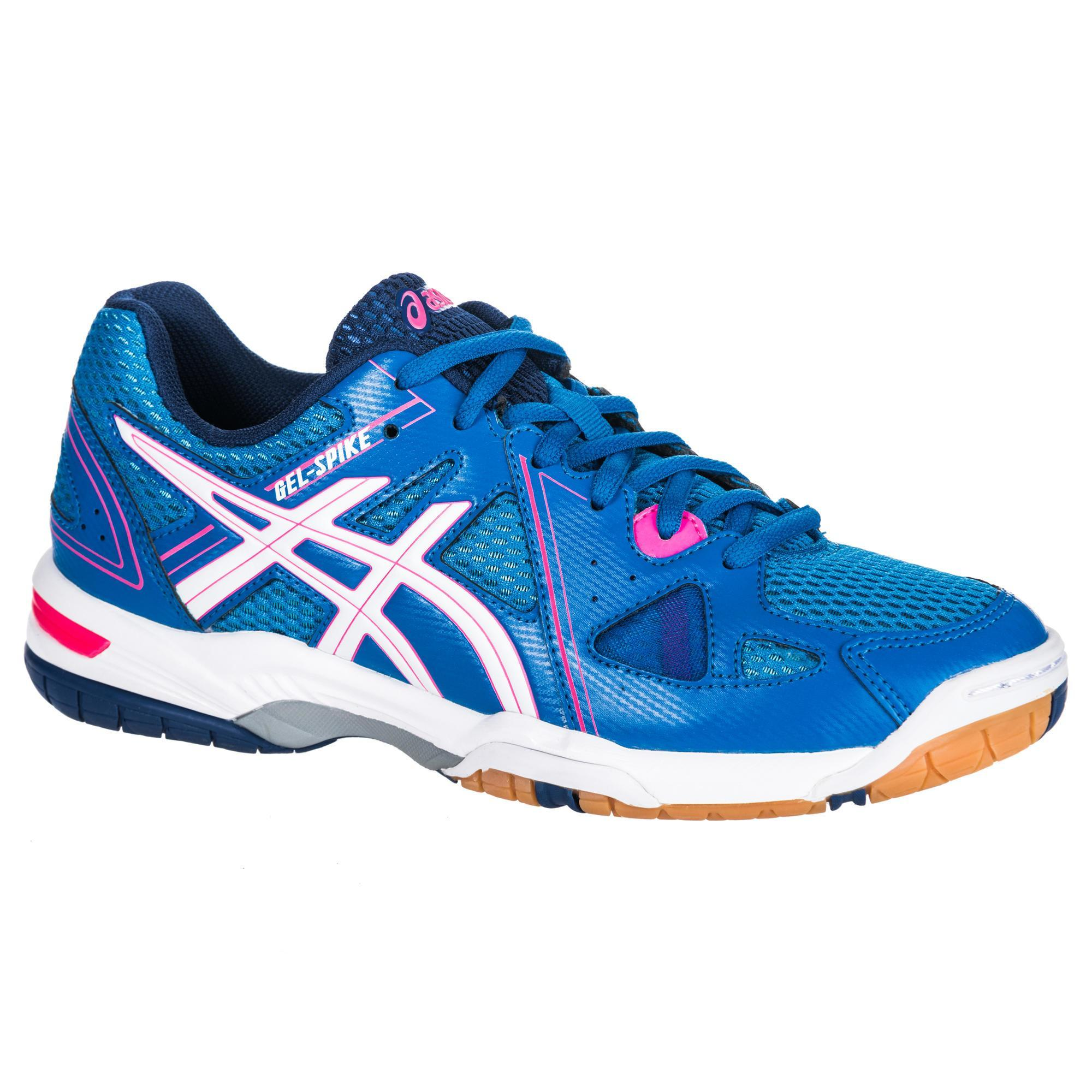 Asics Volleybalschoenen dames Gel Spike blauw/roze
