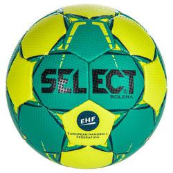 Handbal Solera maat 2 groen/geel