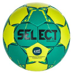 Balón de balonmano Select SOLERA color Verde y Negro talla 3