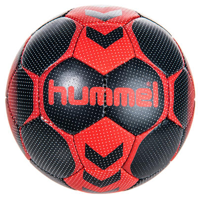 Ballon de handball femme taille 2 noir / rouge