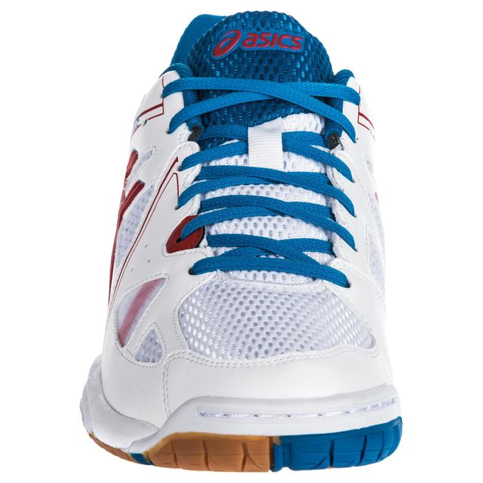 Chaussures de volley-ball homme Gel Spike bleues et blanches. - 1347925