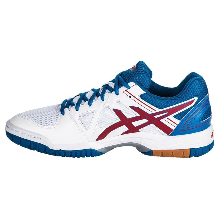 Chaussures de volley-ball homme Gel Spike bleues et blanches Asics