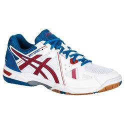 Zapatillas de Voleibol Asics Gel Spike hombre blanco azul y rojo