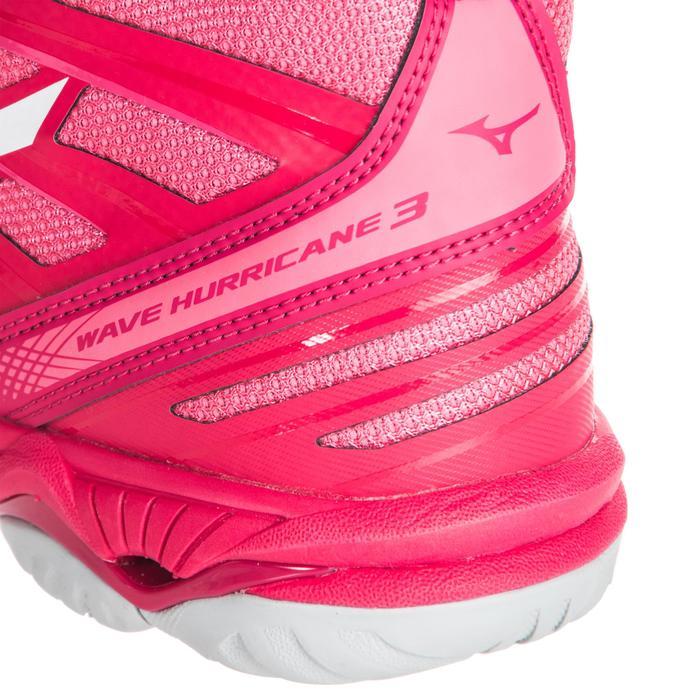 Zapatillas de voleibol mujer Wave Hurricane mid rosa