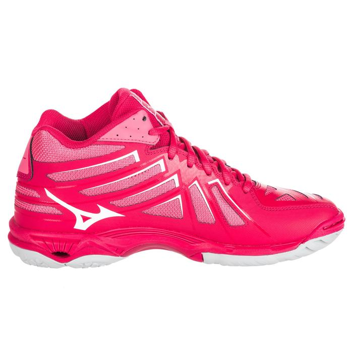 Volleyballschuhe Wave Hurricane Mid Damen pink
