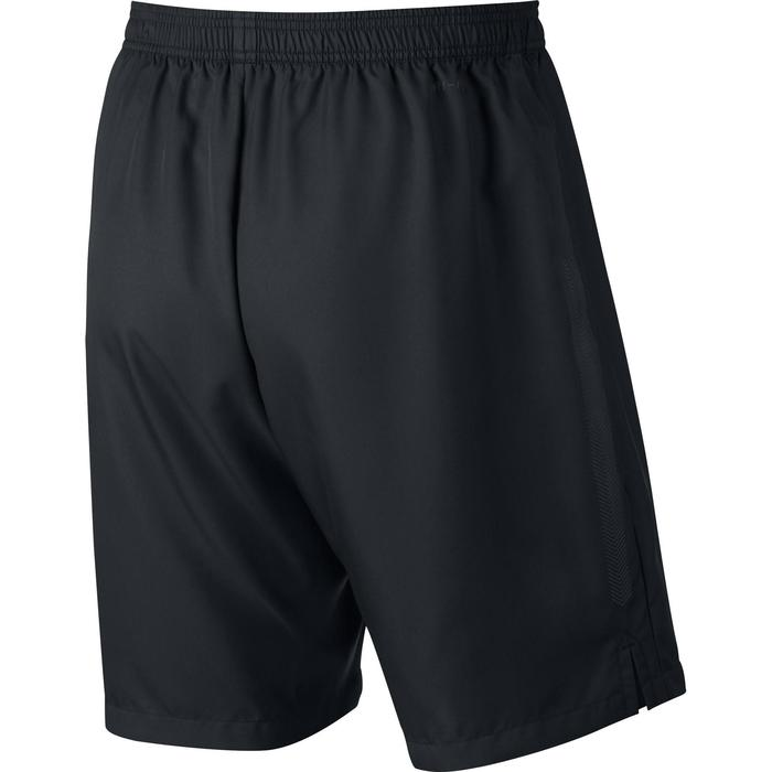 Tennisshort voor heren Dri Fit zwart