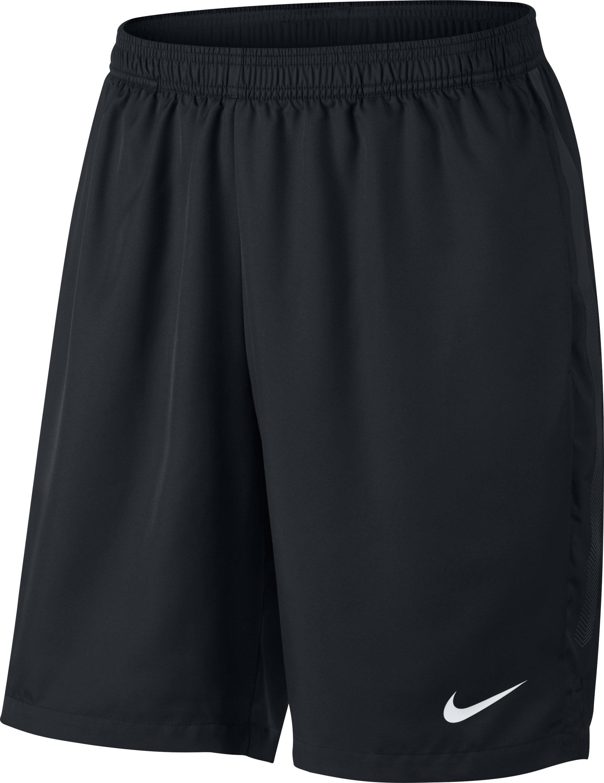 Nike Tennisshort Nike Dry zwart