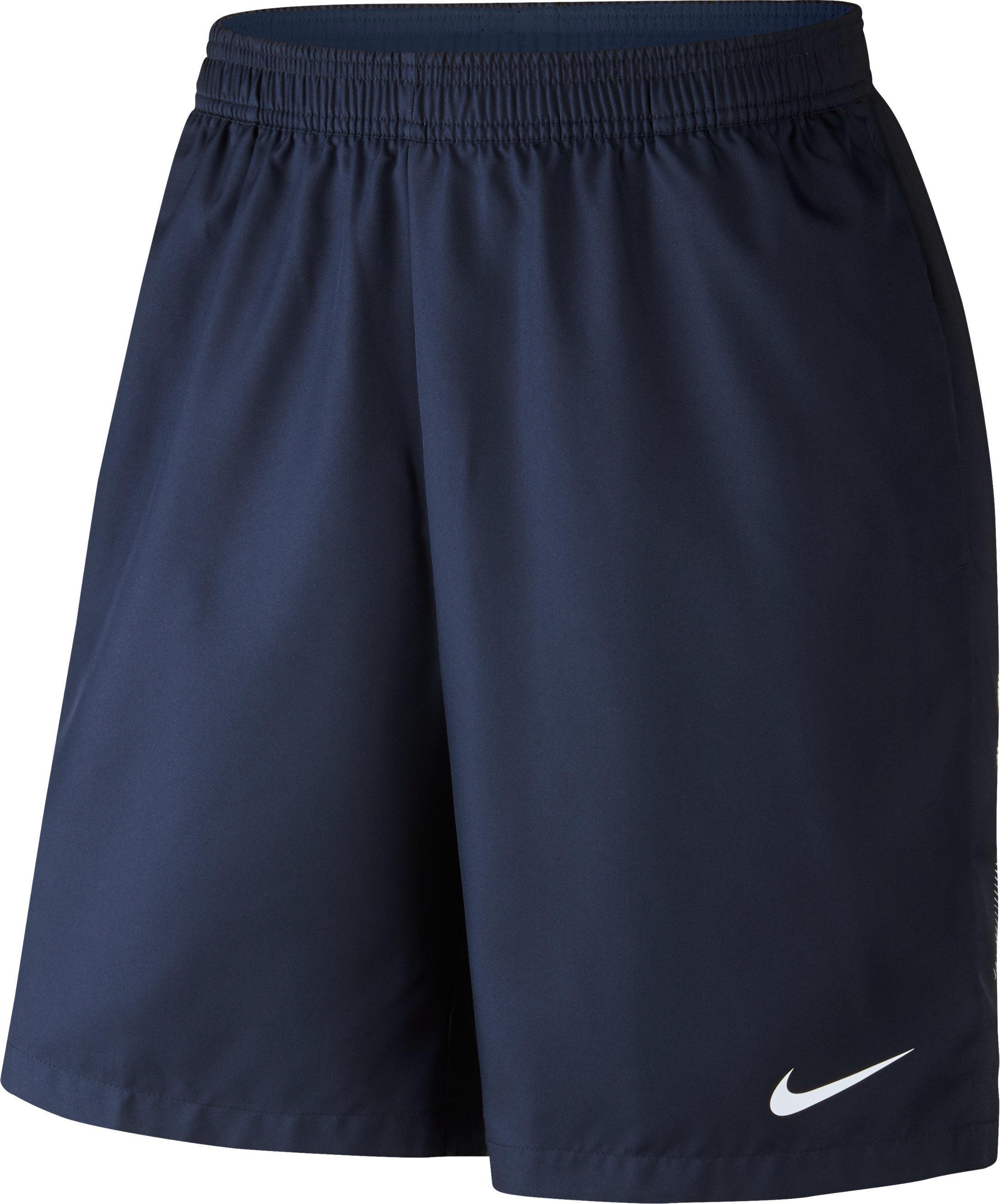Nike Tennisshort Nike Dry marineblauw