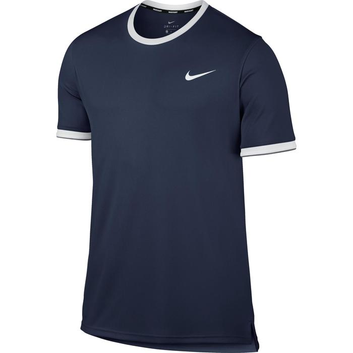 T SHIRT TENNIS NIKE DRY TOP TEAM MARINE