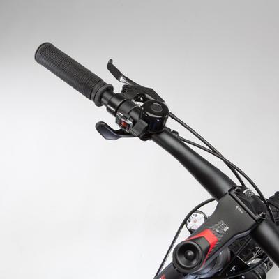 """BICICLETA DE MONTAÑA MTB ROCKRIDER 520 S GRIS RIN 27,5"""""""