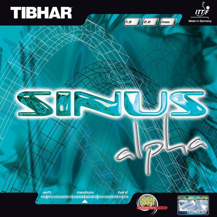 Tafeltennis rubbers Sinus Alpha - 1347999