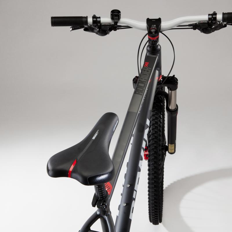 "Bicicleta MTB R540 Gris 27,5"" ROCKRIDER"
