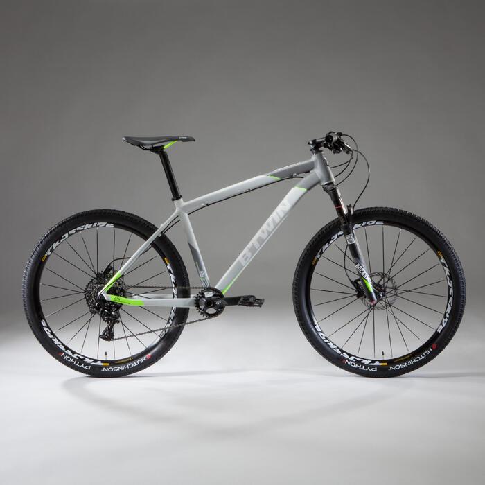 VTT ROCKRIDER 920 GRIS/LIME 27,5 POUCES - 1348085